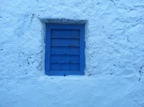 Blue window, Milos