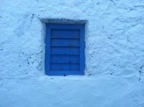 Blue window, Milos