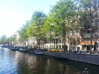 Water in Amsterdam